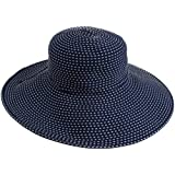 San Diego Women's Ribbon Braid Hat With 5 Inch Brim