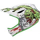 Giro Remedy 10 Cycling Helmet - 59-63cm , White/Green Zombies