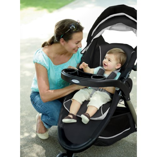Graco FastAction Fold Sport Stroller Click Connect Stroller, Gotham