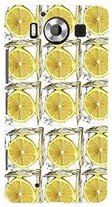 PrintVisa Pattern Lemon Case Cover for Nokia Lumia 950