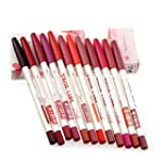 Dream~House~12 PCs/set lip liner penc...