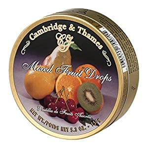 Cambridge & Thames Mixed Fruit Drops (5.3 oz Can)