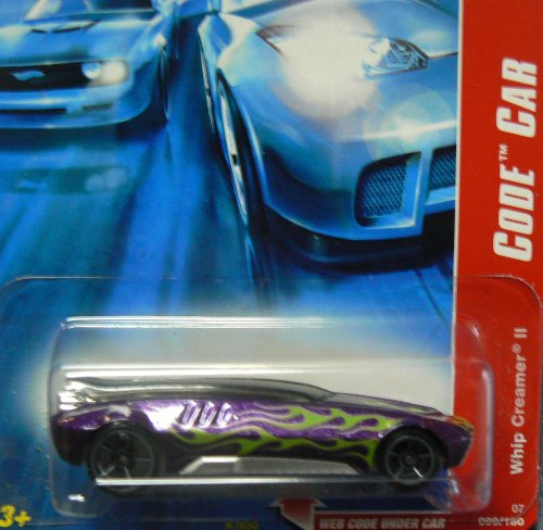Hot Wheels 2007 Code Car Purple Whip Creamer II #099 15 of 24 - 1