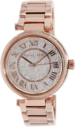 Michael Kors MK5868 42mm Rose Gold Steel Bracelet & Case Women's Watch