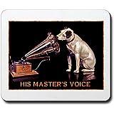 CafePress VINTAGE DOG ART: RCA DOG Mousepad - Standard Multi-color