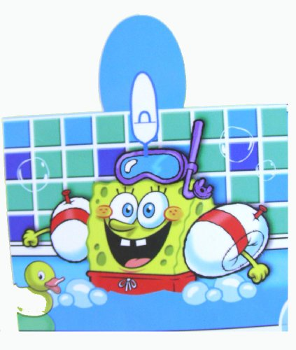 SpongeBob Squarepants Swim Team Hooded Towel
