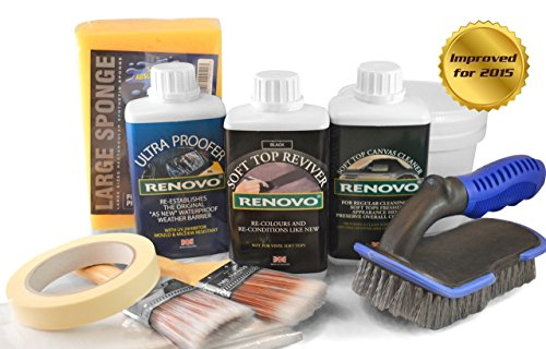 renovo-dark-blue-convertible-hood-soft-top-cleanerreviver-proofer-complete-kit-with-brushes-etc-by-m