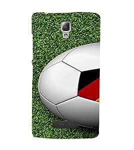 PrintVisa Sports Football Germany Design 3D Hard Polycarbonate Designer Back Case Cover for Lenovo A2010