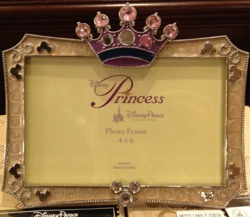 disney-parks-jeweled-princess-crown-4-x-6-picture-frame-disney-parks-exclusive-limited-availability-