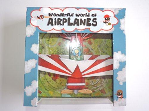 Wonderful World of Airplanes - Interactive Children's Book - 1