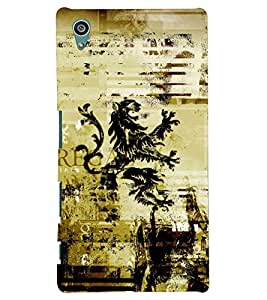 Kingcase Printed Back Case Cover For Sony Xperia Z5 - Multicolor