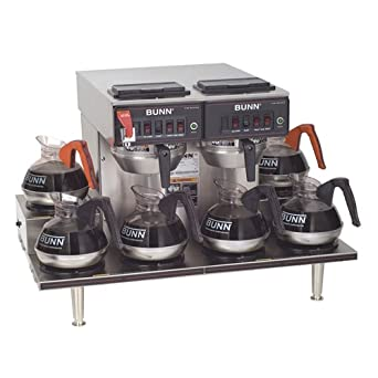Bunn Coffee Maker Lights Flashing : Amazon.com: Bunn 12 Cup Automatic Coffee Brewer with 6 Warmers -CWTF-0/6-0020: Industrial ...