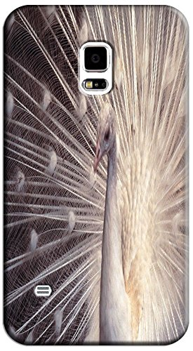 Beautiful Peacock Cell Phone Cases Design Special For Samsung Galaxy S5 I9600 No.1