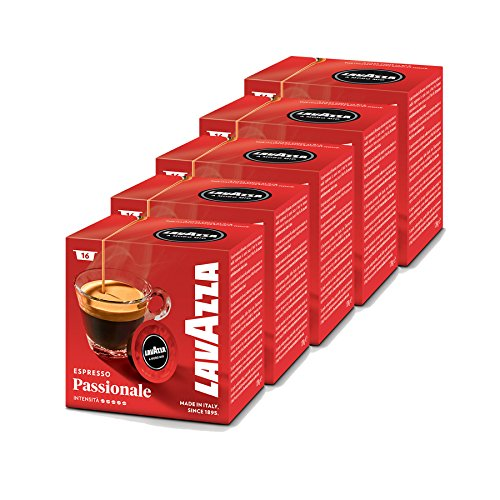 buy lavazza a modo mio appassionatamente pack of 5 5 x 16 capsules at coffee pod king. Black Bedroom Furniture Sets. Home Design Ideas
