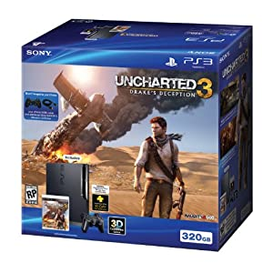 PS3 Uncharted 3 Bundle