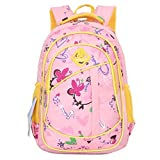 Coofit Cute Colorful Backpacks for Girls School Bags Book Bag Back Pack