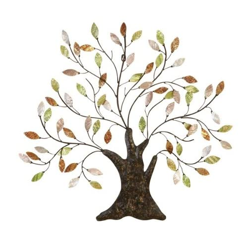 Amazoncom Tree Of Life Wall Art Decoration Branch Shells Home