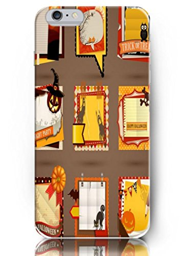 Ouo New Unique Funny Design Hard Cover 5.5 Inch Halloween Invitation Cards Iphone 6 Plus Case