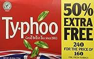 Typhoo Tea 240 Bags (160 Bags + 80 Ba…