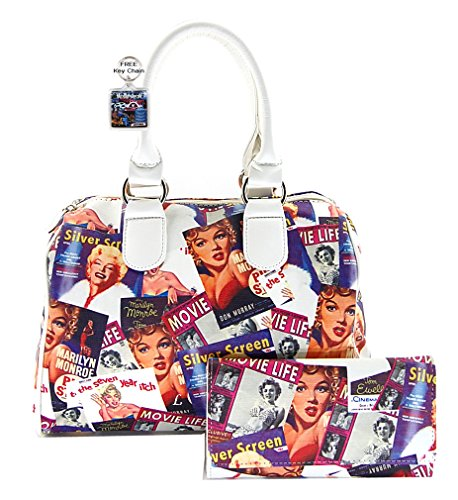 Marilyn Monroe Collage Satchel