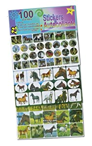 100 Horse Stickers [Misc.]