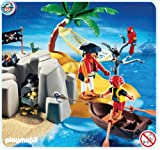 Playmobil 4139 Pirates Island Compact Set