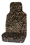 Vauxhall Astra Sporthatch-Twintop (2005-11) Luxury Leopard Faux Fur Car Seat Covers - Front Pair (Airbag Friendly)