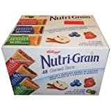 Nutri-Grain-Kellogg's Cereal Bars Variety Pack, 1.3oz 48-Count (Pack of 2)