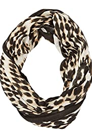 Lightweight Ethnic Spotted Snood Scarf [T01-5640-S]