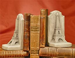 TMS P5642G-18 Bookends - Eiffel Tower