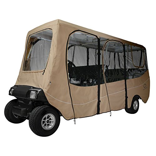 Deluxe Universal Golf Cart Enclosure for 6 Passenger Carts (Golf Cart Supplies compare prices)