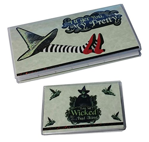Oz Wicked Witch Hat Calendar Note Pad Set 2016-17 & Debit Card Holder w/ Register (Transaction Register Holder compare prices)