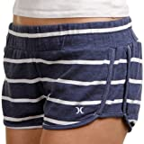 Hurley Beachrider Juniors French Terry Short - Blue Stripe