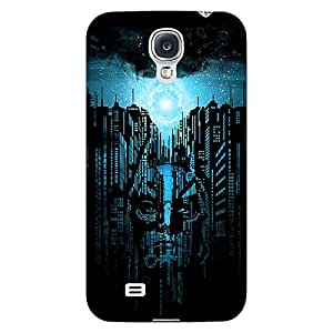Jugaaduu Superheroes Batman Dark knight Back Cover Case For Samsung Galaxy S4 I9500