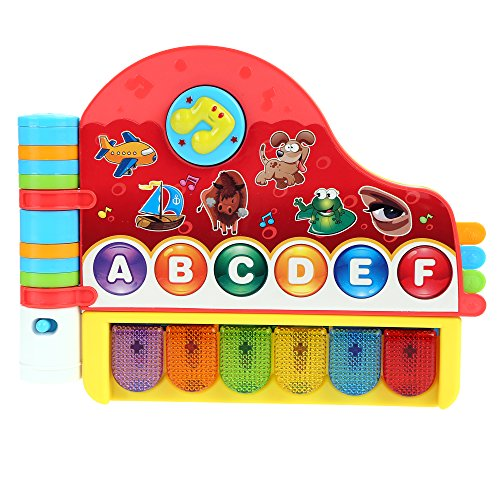 Arshiner-Baby-Kids-Rhymes-and-Music-Book-with-Light-Educational-Learning-Toy