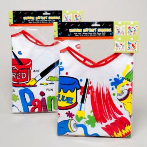 Kid'S Artist Smock (72 Pack)