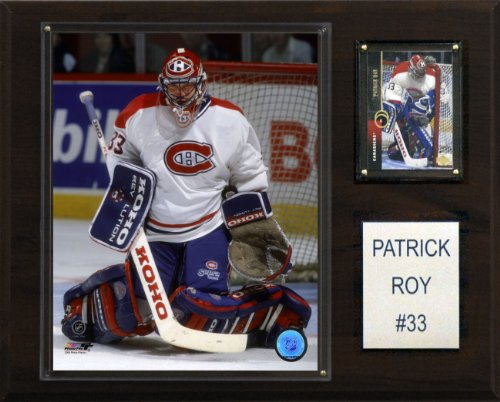NHL Patrick Roy Montreal Canadiens Player Plaque