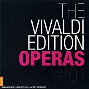 Vivaldi Edition Operas Vol. 1
