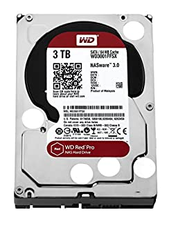 WESTERN DIGITAL WD Red Pro 3.5インチ内蔵HDD 3TB SATA6.0Gb/s 7200rpm 64MB WD3001FFSX