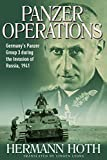 Panzer Operations: Germanys Panzer Group 3 During the Invasion of Russia, 1941