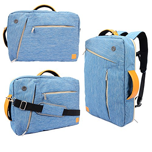 Click to buy VanGoddy 4 in 1 Universal Canvas Hybrid 10 Inch Laptop / Tablet Bag for The new MacBook 12-inch / Microsoft Surface 3 / Pro 3 / Pro 4 / Apple MacBook 11.6 / iPad Air 2 / Acer C720 Chromebook (Blue) - From only $36.99