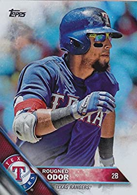 Baseball MLB 2016 Topps #16 Rougned Odor NM-MT Rangers