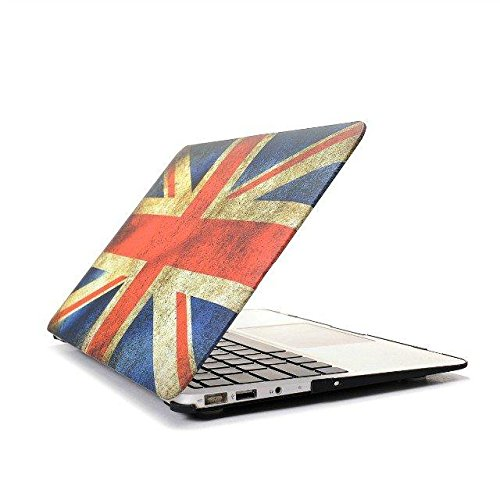 Matte Crystal Clear Plastic Rubberized Hard Shell Clip Case Cover for 2014 New Apple Macbook Air 13 13.3 A1369 & A1466 rubberized hard shell case w ribbed design holster