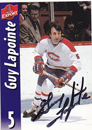 guy-lapointe-autographed-hockey-card-montreal-canadiens-molson-export