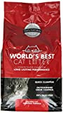 Worlds Best Cat Litter Cat Scoopable Multiple Cat Clumping Formula, 14-Pound Bag