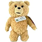 "Ted 8"" Plush with Sound, R-Rated, 5 Phrases (Explicit Language)"