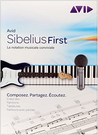 Pinnacle Sibelius First, 500 MB, 512 MB, 1 usuario(s), Caja, FRE