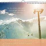 Image de Geh deinen eigenen Weg 2017: Dekorativer Wandkalender mit Monatskalendarium (Geschenk