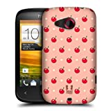 Head Case Designs Cherry Micro Fruit Patterns Protective Snap-on Hard Back Case Cover for HTC Desire C