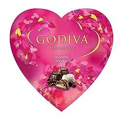 Godiva Chocolatier Belgian Chocolates Valentine\'s Day Gift Heart